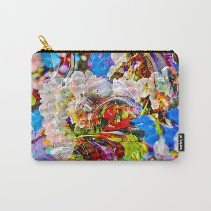 Abstract Perfection 14  Spring Carry-All Pouch
