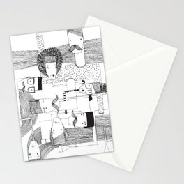 connection people Stationery Cards