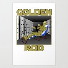 Golden Rod Art Print