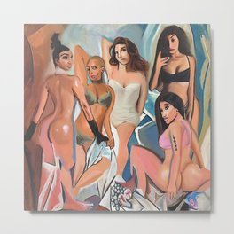 Les Demoiselles d' Los Angeles by The Producer BDB Metal Print