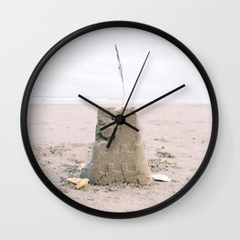 Put a feather in it Wall Clock