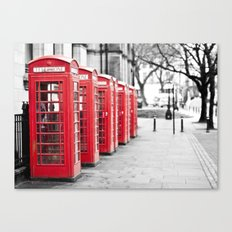 Vintage Red  Canvas Print