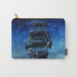 Black Pearl Starry Night Carry-All Pouch