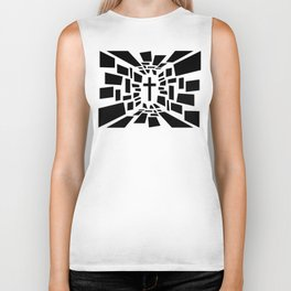 Christian Cross Biker Tank