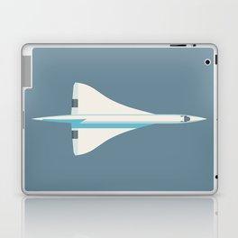 Concorde Supersonic Jet Airliner - Slate Laptop & iPad Skin