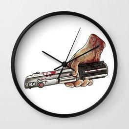who's hand Wall Clock