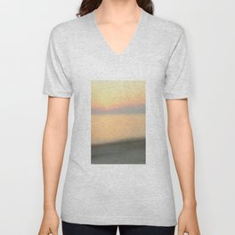 Sunset Blurred Unisex V-Neck