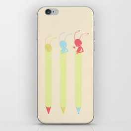 INK BUNNY & ROLL iPhone Skin