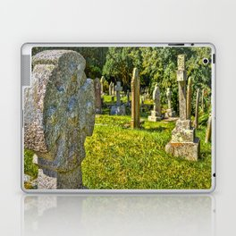 St. Mylor Church - Headstones Laptop & iPad Skin