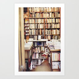 Books Art Print