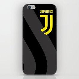 JUVENTUS Black iPhone Skin