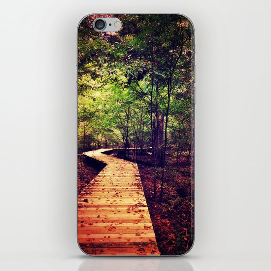 Don't Stop Walking iPhone & iPod Skin