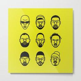 Wu-Tang Clan Metal Print