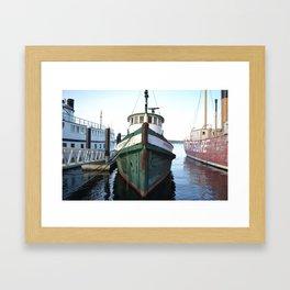 In Harbour  Framed Art Print