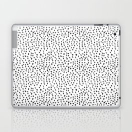 Black and White Spots Laptop & iPad Skin