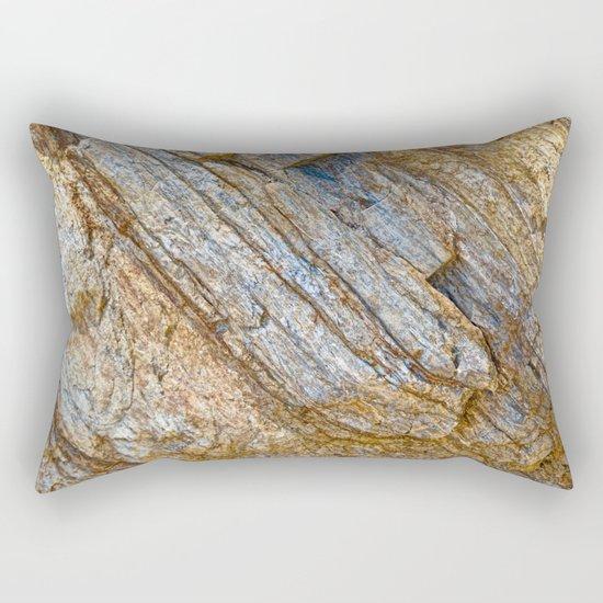 Stunning rock layers Rectangular Pillow