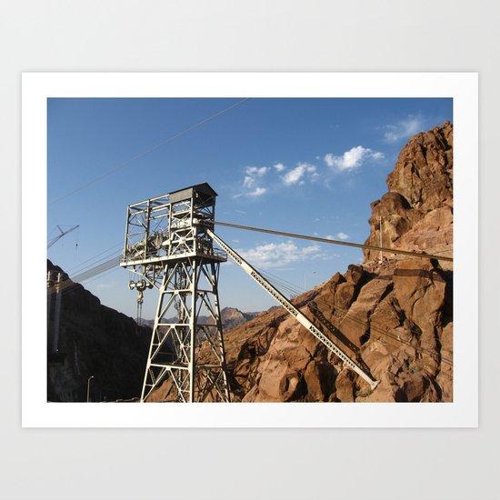 Hoover Dam III Art Print