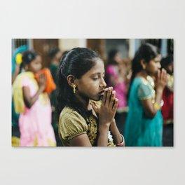 Faith of an Orphan Canvas Print