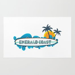 Emerald Coast  - Florida. Rug