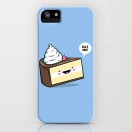 Eat Me! - Wonderland Kawaii Cake iPhone Case