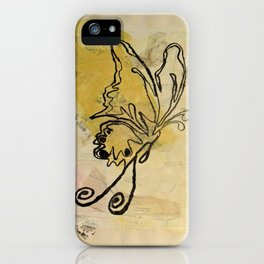 Melody Butterfly iPhone Case