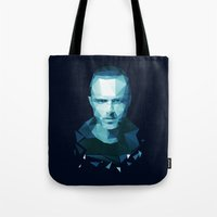 jesse pinkman Tote Bags featuring Jesse Pinkman by Dr.Söd