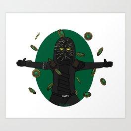 Make it rain guardians Art Print