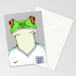 Football Frog Stationery Cards