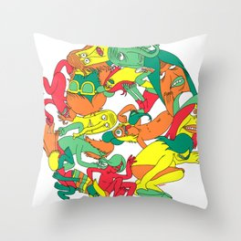 See you Around Throw Pillow
