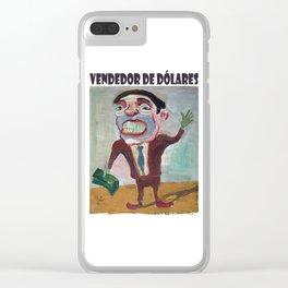 Vendedor de dólares 3 por Diego Manuel Clear iPhone Case