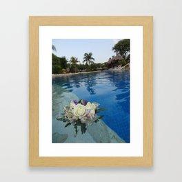 Beauty Afloat Framed Art Print