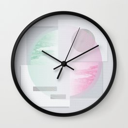 Circle divided Wall Clock