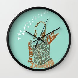 tara maclay under your spell buffy Wall Clock