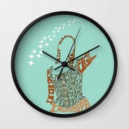 tara maclay under your spell buffy Wall Clock