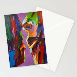 Four Faces Stationery Cards