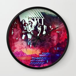 A Somber Affair Wall Clock