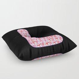 Alphabet - Lovely L Floor Pillow