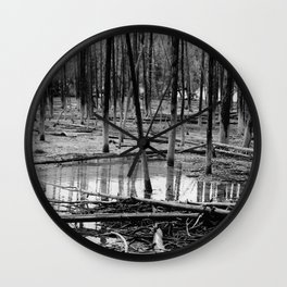 Tree Bones Wall Clock