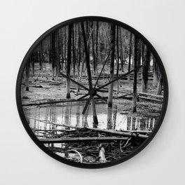 Tree Bones Wall Clock