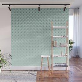 Geometric #turquoise #pattern #monochrome Wall Mural