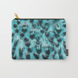 Blue plumage Carry-All Pouch