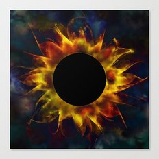 Solar Eclipse Fantasy Canvas Print