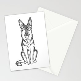 German Shepherd Dog Stationery Cards
