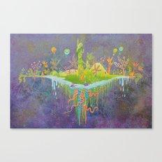 Aeolus 's flying island Canvas Print