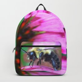 Bee on Flower Backpack