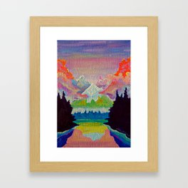 Misty Mountain Framed Art Print
