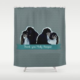 Thank you Molly Hooper Shower Curtain