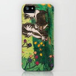 Skunk Picnic iPhone Case