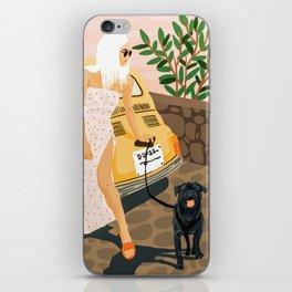 Tour #illustration iPhone Skin
