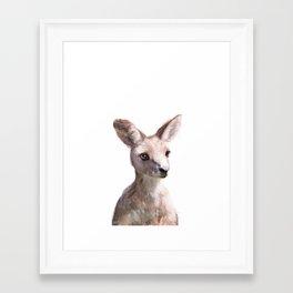Little Kangaroo Framed Art Print